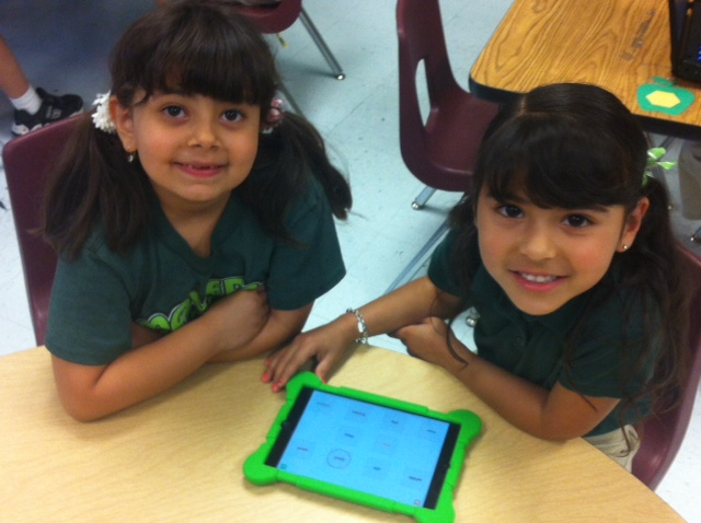 iPads at Maverick Elementary